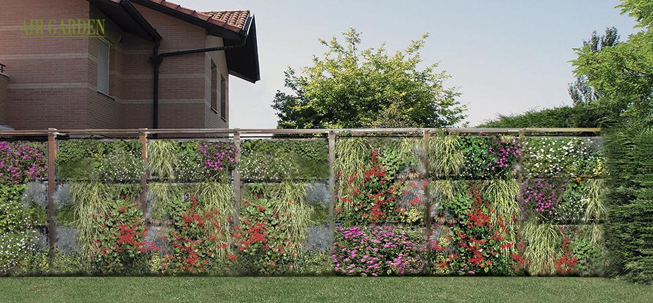 Air garden un novedoso sistema modular de jardiner a - Cerramientos de jardines fotos ...
