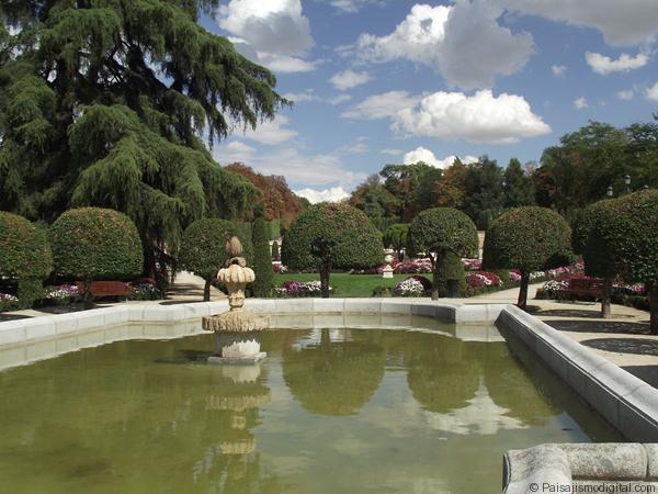 Jardin del Parterr - Estanques