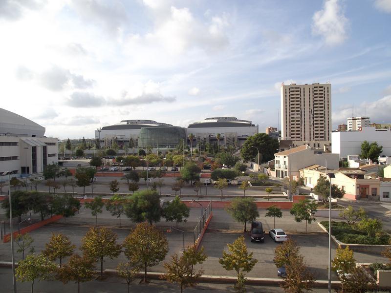 Vista exterior Feria Valencia, donde se desarrolla IBERFLORA