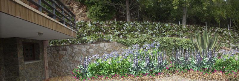 Jardin en Begues