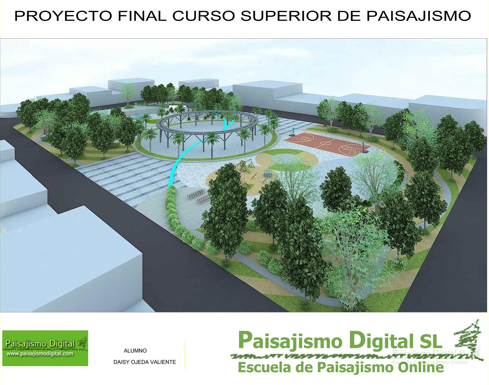 Curso superior de paisajismo noticias de paisajismo for Curso paisajismo