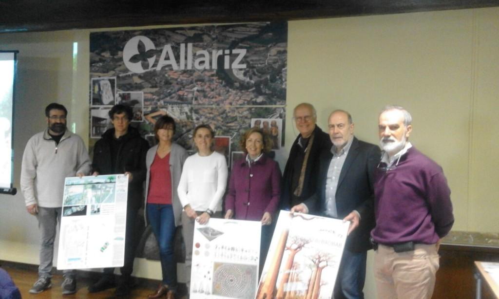 finalistas del VII Festival Internacional de Jardines de Allariz
