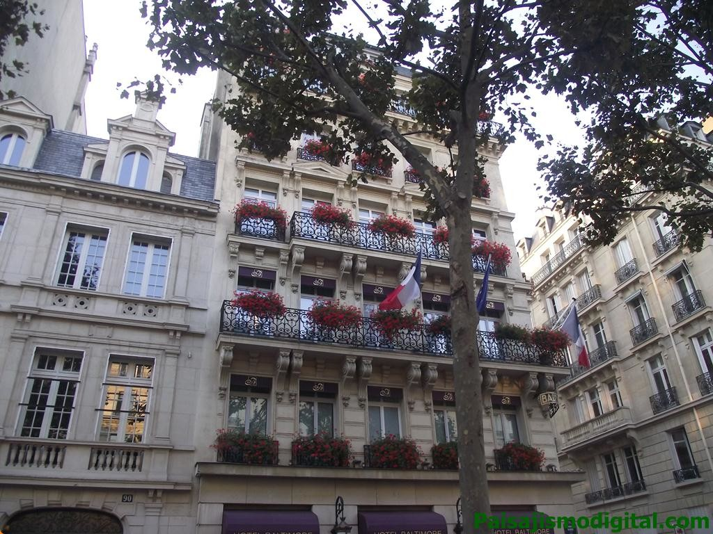 Balcones en Paris