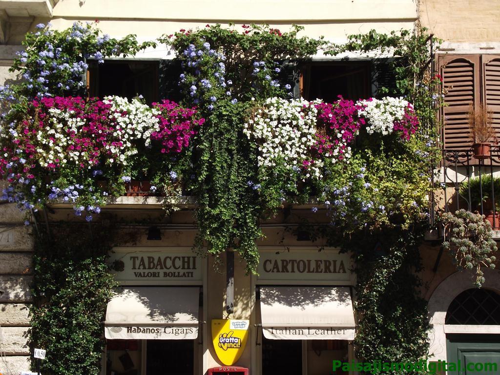 Balcon en Roma
