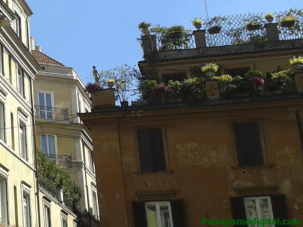 Terraza en Roma