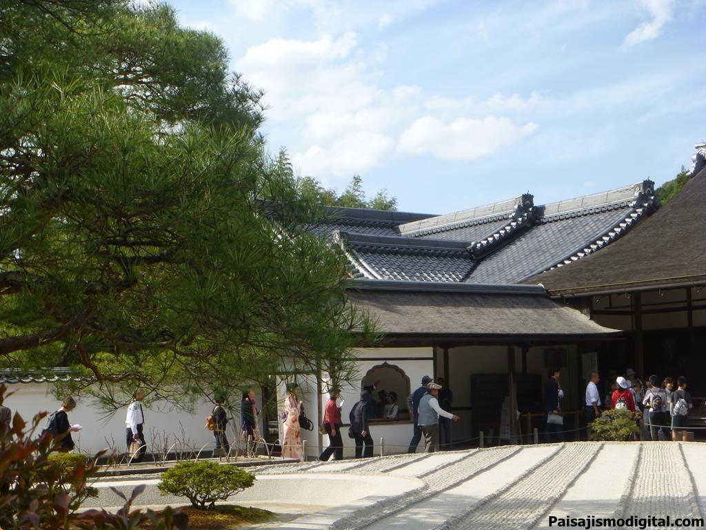 Ginkaku-ji. Templo del Pabellón de Plata