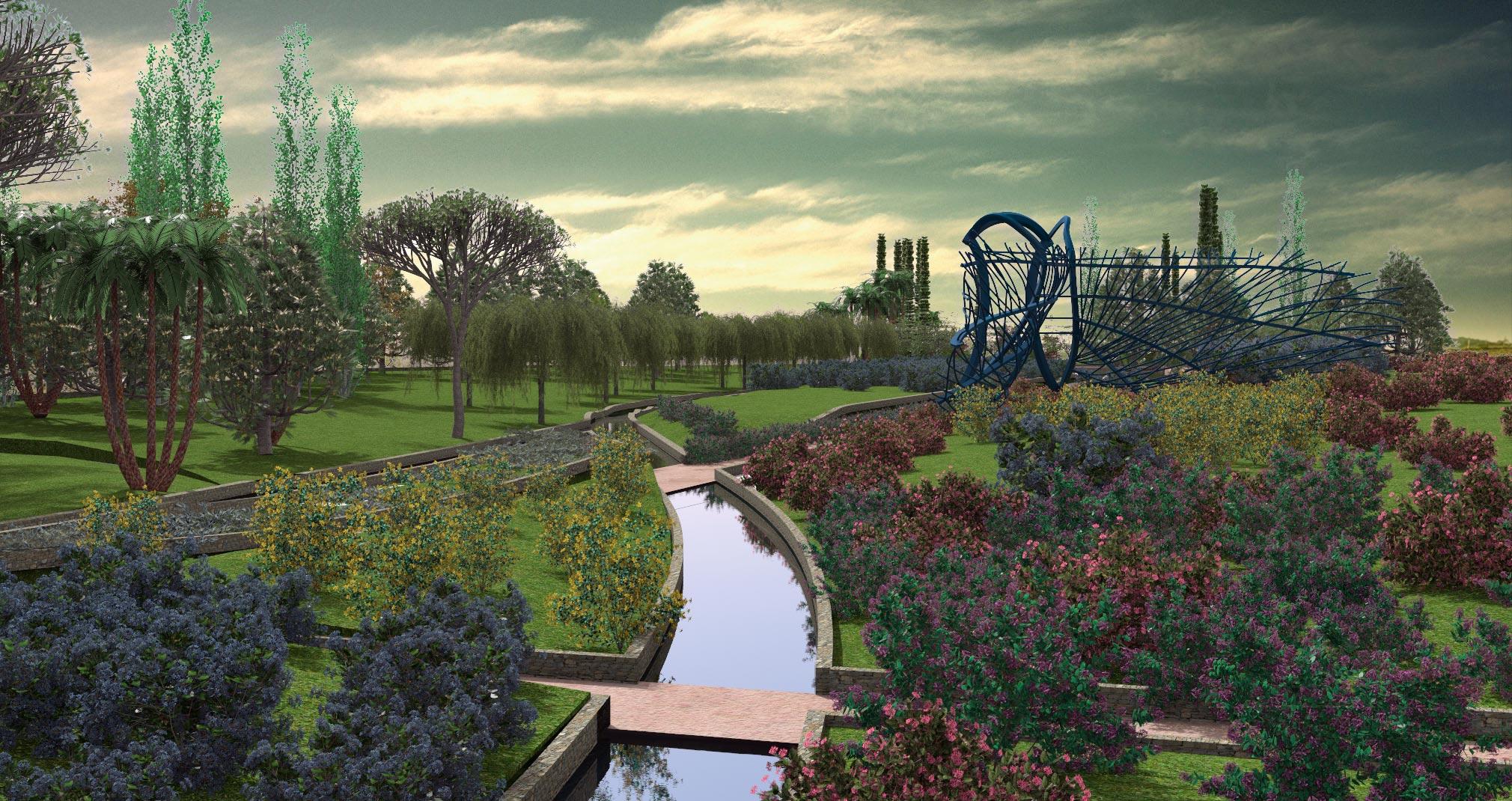 Curso de lands design dise o de parques y jardines en autocad for Diseno de parques y jardines