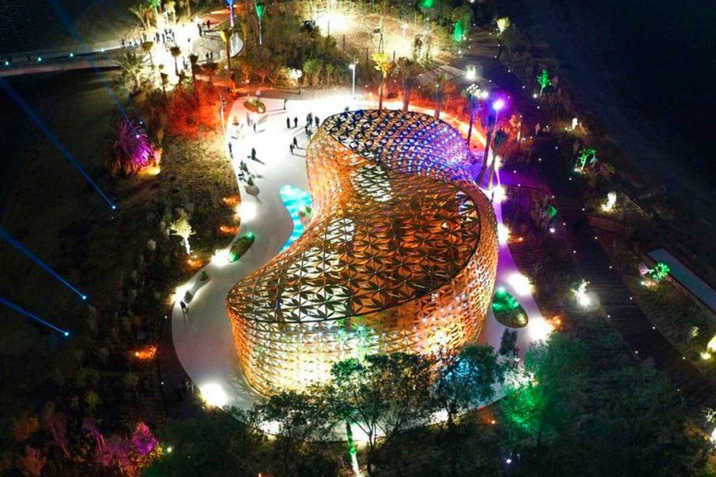 André Heller: Arte paisajista en grandes dimensiones - Desarrollo urbano de la isla Al Noor