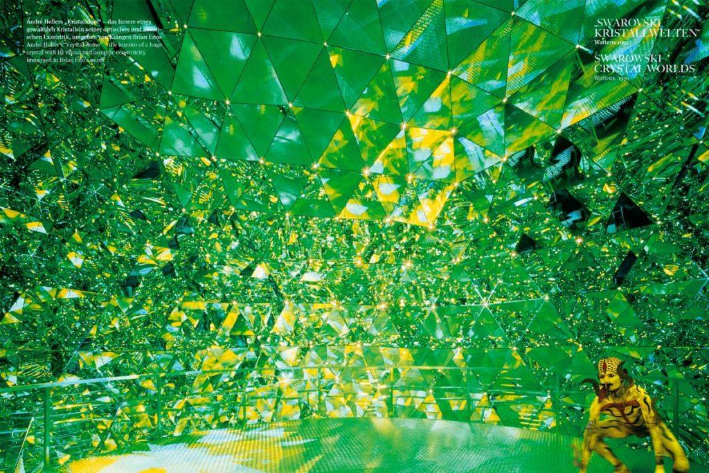 André Heller: Arte paisajista en grandes dimensiones - Los muros de cristal
