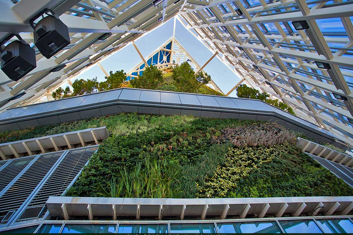 Jardines verticales de España y Europa