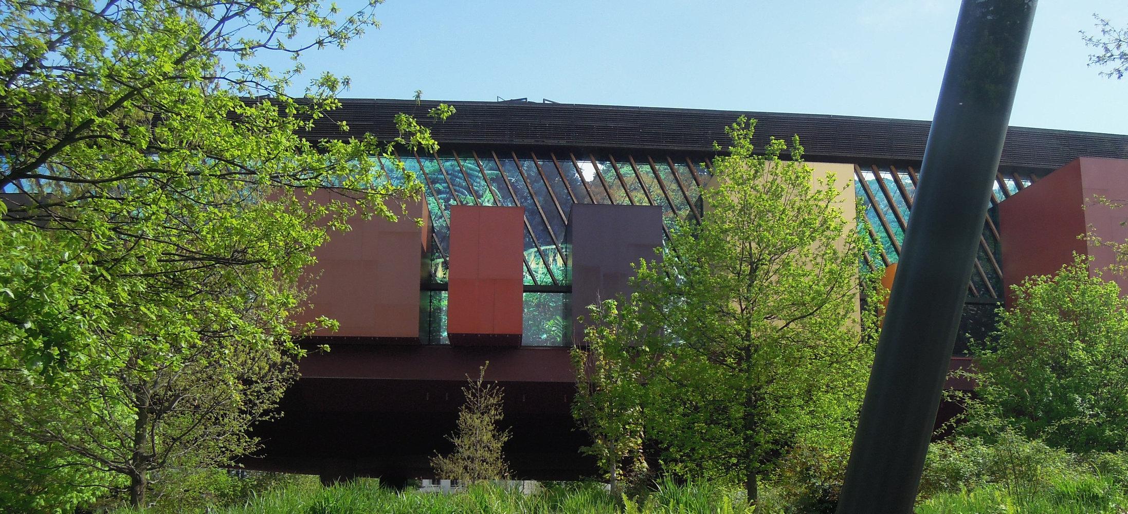 Jardín vertical de Quai Branly - Jardines del museo - Noticias de ...