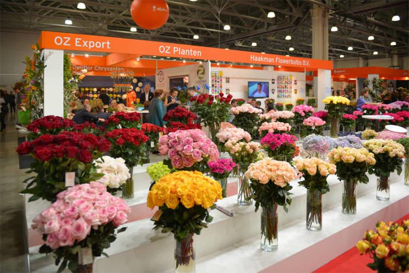 Expo Flowers Moscú 2019