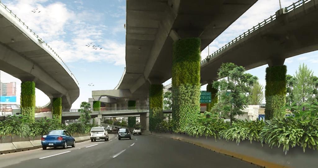 Vía Verde: Oxígeno para la CDMX con jardines verticales