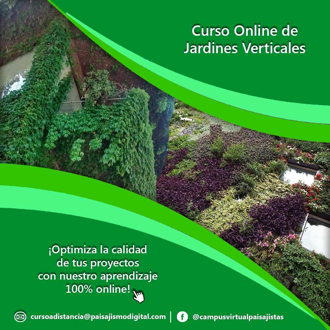 Curso Online de Jardines Verticales 4