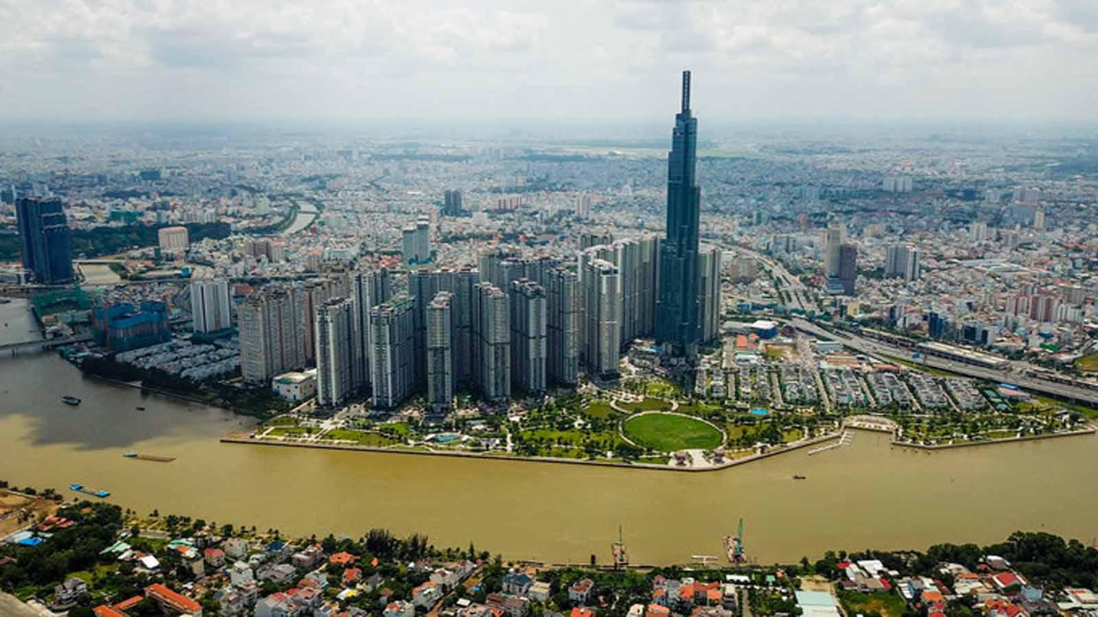 La transformación paisajista de Ho Chi Minh 1