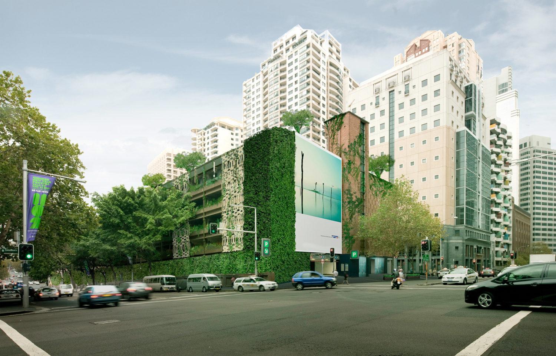 Techos y muros vegetales en Australia