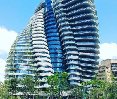 Jardines verticales de Asia