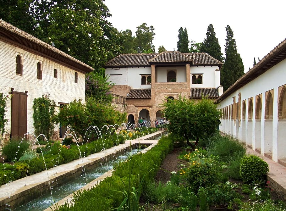 Características del jardín árabe
