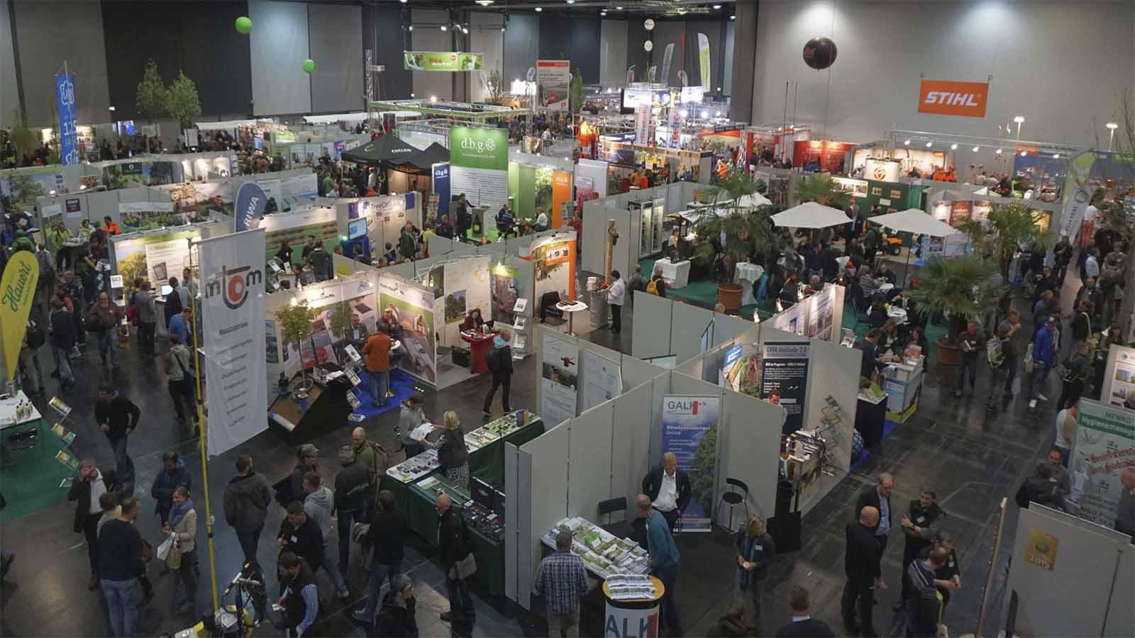 Feria Deutsche Baumpflegetage de Augsburgo 2