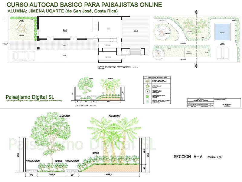 Curso autocad b sico para paisajistas paisajismo digital for Curso paisajismo