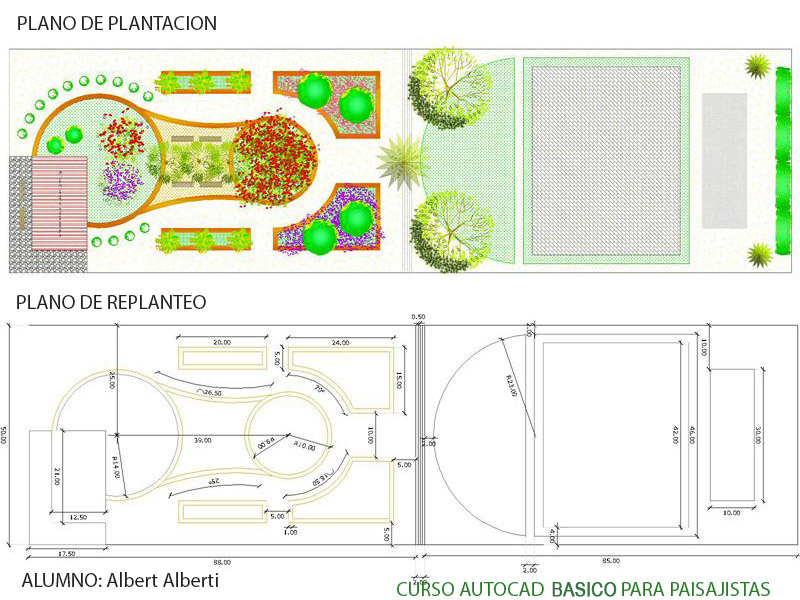 Curso autocad b sico para paisajistas paisajismo digital - Que es paisajismo ...