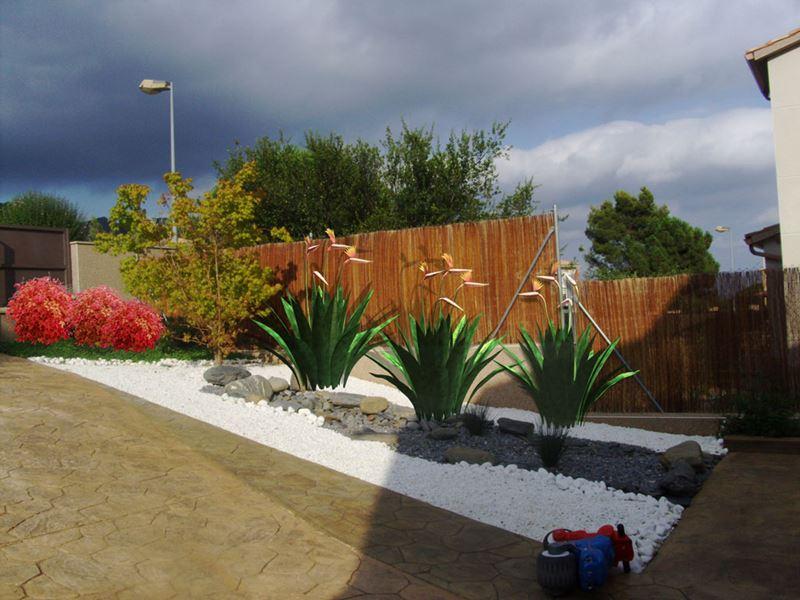 Jardin privado en cobalt paisajismo digital servicios for Terrazas zen fotos