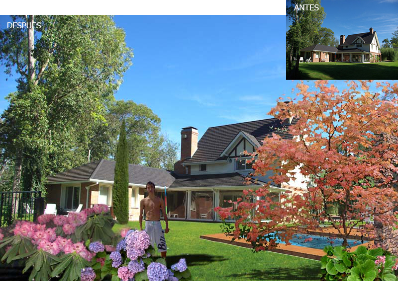 curso autocad + photoshop aplicado al diseño de jardines