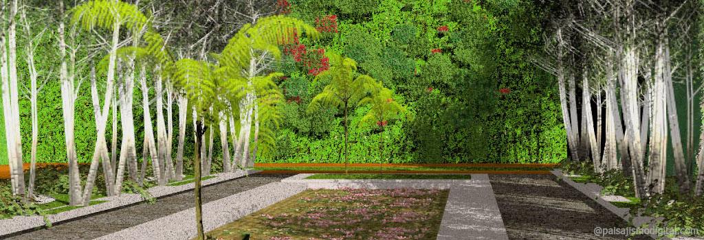 Curso representacion fotorrealista de parques y jardines for Parques y jardines