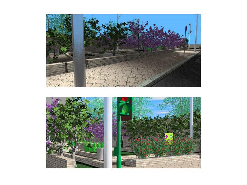 curso fotorrealismo - jardin_Eliana2