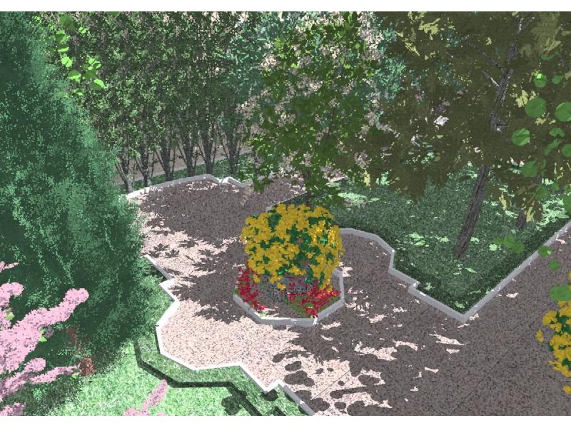 curso fotorrealismo - sector jardin_clasico