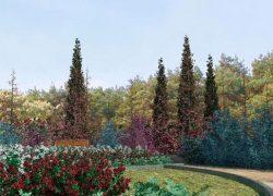Diseños realizados con Lands Design – Plaza de los Liquidambars