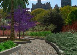 """Diseños realizados con Lands Design – Jardin Tropical """"El Jardín de los Mosaicos"""""""