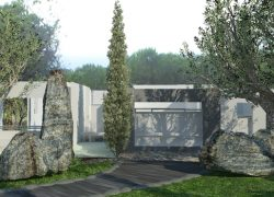 """Diseños realizados con Lands Design – """"Jardín en Fuerte Pendiente"""""""