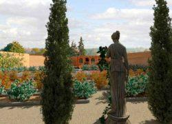 """Diseños realizados con Lands Design – """"Jardín con Reminiscencias Italianas"""""""