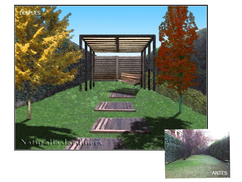 curso autocad photoshop jardines