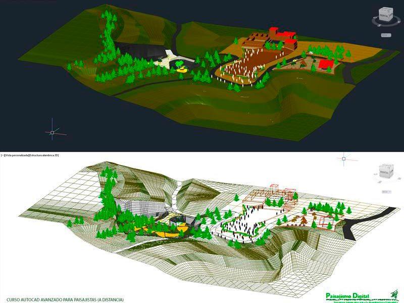 curso autocad avanzado para paisajistas
