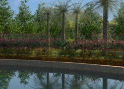 Diseños realizados con Lands Design – «Jardín en Finca Rural»